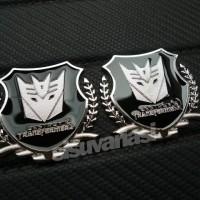 Jual Emblem Transformers Shield (Decepticon) Limited Murah