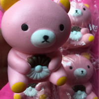 Jual SQUISHY MEDIUM RILAKUMA/ NEW ADORABLE CUTE RILAKUMA SQUISHY MEDIUM Murah
