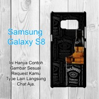 Jack Daniels Custom Case Samsung Galaxy S8