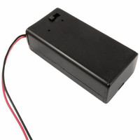 Promo 9V PP3 Battery Holder Box DC Case With Wire Lead ON/OFF Switch C