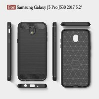 Samsung Galaxy J5 Pro 2017 J530 Carbon Case Softcase Texture Silikon