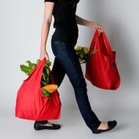 Jual New    Baggu Bag Shopping Tas Belanja Spunbond Kantong Tote Bags Murah