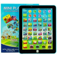 Jual Mainan Edukasi Mini Playpad 2 Bahasa Mainan Tablet Anak Murah