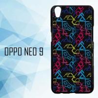 Casing Hardcase HP Oppo Neo 9 Fox Wallpapers Motocross X4532