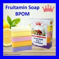 Jual [ BPOM ] FRUITAMIN SOAP BPOM Murah