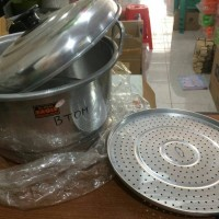 Harga gojek dandang langseng panci steamer 28cm global | antitipu.com