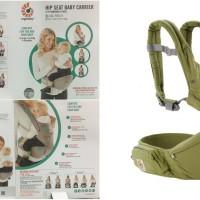Jual Ergobaby Ergo Baby Hipseat Hip Seat Carrier Green Gendongan bayi Murah