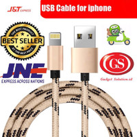 Jual Kabel Data Charger Iphone 5/5s/6/6s/7/7plus Fast Charging High Quality Murah