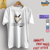 Baju kaos t-shirt dewasa/anak KARTUN TV THE PENGUINS OF MADAGASCAR 03