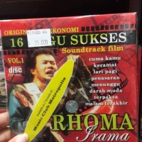 CD EKONOMIS RHOMA IRAMA - 16 LAGU SUKSES SOUNDTRACK FILM VOL.1