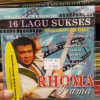 CD EKONOMIS RHOMA IRAMA - 16 LAGU SUKSES SOUNDTRACK FILM VOL.2