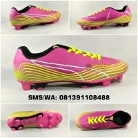 Sepatu Sepak Bola Dewasa Puma Evospeed Mesh Pink Hijau Stabilo Terbaru