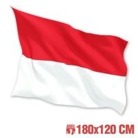 Jual Baru Bendera Indonesia Merah Putih 120x180 cm Termurah Murah