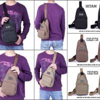 Jual PROMO Bodypack Bag Tas Selempang Pria / Men Sling Shoulder Bags 6012 A Murah