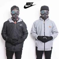 Jual jaket bolak balik Nike farsity Murah Murah