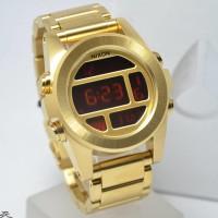 Nixon A36050200 Unit SS All Gold Diskon