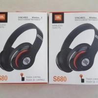 Jual Dijual Headset Wireless Bluetooth Jbl S680 Super Bass Terbaru Murah