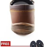 Jual Sepatu Pria Loafers Santai Kampus Dan Kerja Redknot Grovers Brown Murah