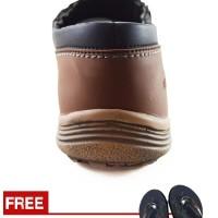 Jual Sepatu Pria Loafers Santai Kampus Dan Kerja Redknot Grovers Black Murah