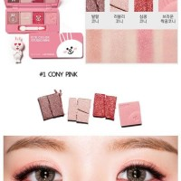 Jual Buy 1 Get 1 [ Promo ] Missha Eye Color Studio Mini Line Friends Cony   Murah