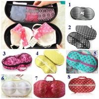 Jual Bra Bag Organizer Travelling New Style bra bag renda tas bra Murah