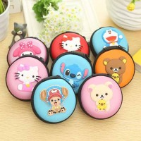 Jual Tempat earphone headset karakter doraemon rilakuma hello kitty stitch Murah