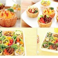 Jual Cetakan Nasi Steam Rice Mold Cup Baking Oven Karakter Rilakuma Frozen Murah