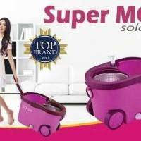 Jual Super MOP BOLDe SOLANA-STAINLESS - TMPT SABUN, RODA & LUBANG AIR BESAR Murah