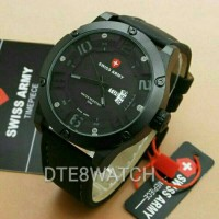 Jual ORIGINAL Swiss Army 3035M Leather 1 Year Guaranted Murah