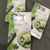 Jual Starbucks Matcha Green Tea Packs Murah