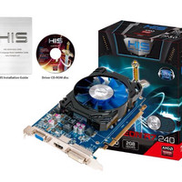 HIS vga card R7 240 2GB 128bit