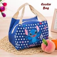 Jual [ STITCH ] - Lunch bag Cooler bag KARAKTER Murah