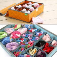 Jual Underwear Storage Organizer 24 Grid / box tempat pakaian dalem Murah