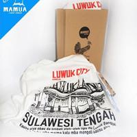 kaos oleh-oleh khas Luwuk, Sulawesi Tengah