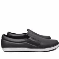 Jual Sepatu Karet - Pantofel - Sepatu Kerja Anti Air dan Hujan Hitam Murah