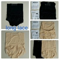 Jual MUNAFIE LONG LACE SLIM PANTS CELANA Murah