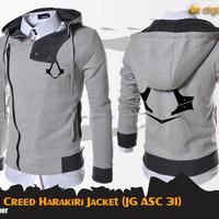 Jual Jaket Assassins Creed Harakiri Grey JG ASC 31 Murah