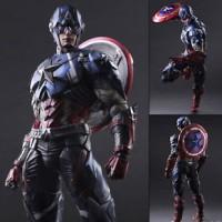 Square Enix VARIANT Play Arts Kai Marvel Comics Captain America figure