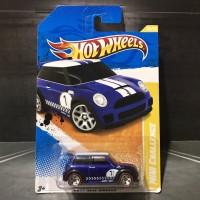 Hot Wheels Mini Cooper S Challenge Blue Akta Redline