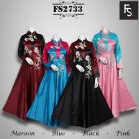 Jual gamis maxi dress baju pesta baju india busana muslim abaya jubah Murah