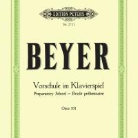 Buku Piano BEYER OP.101 / OPUS 101 / OP 101 - buku musik new