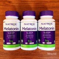 NATROL MELATONIN TR Time Release 5 mg 100 Tablets