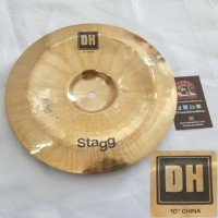 "Stagg Cymbal DH-CH10B - 10"" Dual Hammered Brilliant China"