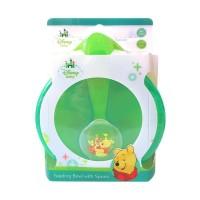 feeding pooh bowl with spoon disney baby kiddy [wtp08-023]