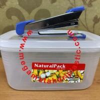 Natural Pack 500 Ml (Sealware Segi Transparant)