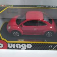 Diecast Bburago skala 1/24 VW New Beetle