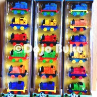 Thomas & Friends Die Cast Set 6 Kereta Besi Magnet