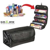 Tas Makeup Kosmetik Cosmetic Roll N Go Organizer Multifungsi - TKM01