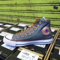 Sepatu converse All Star Abu-Abu  Grade Ori - Tinggi