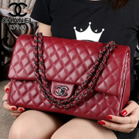 CHANEL Yuni Shara Premium leather Hardware Black Like Ori K9960